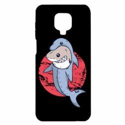 Чехол для Xiaomi Redmi Note 9S/9Pro/9Pro Max Shark or dolphin