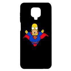 Чехол для Xiaomi Redmi Note 9S/9Pro/9Pro Max Simpson superman