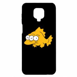 Чехол для Xiaomi Redmi Note 9S/9Pro/9Pro Max Simpsons three eyed fish