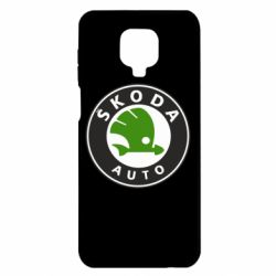 Чохол для Xiaomi Redmi Note 9S/9Pro/9Pro Max Skoda Auto