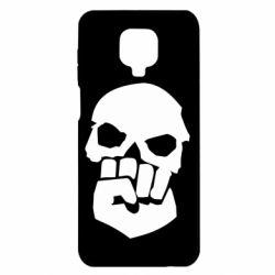 Чехол для Xiaomi Redmi Note 9S/9Pro/9Pro Max Skull and Fist