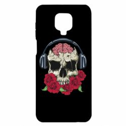 Чохол для Xiaomi Redmi Note 9S/9Pro/9Pro Max Skull and roses