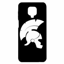 Чехол для Xiaomi Redmi Note 9S/9Pro/9Pro Max Spartan helmet