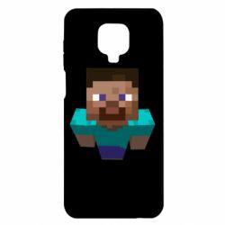 Чехол для Xiaomi Redmi Note 9S/9Pro/9Pro Max Steve from Minecraft