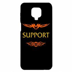 Чехол для Xiaomi Redmi Note 9S/9Pro/9Pro Max Support