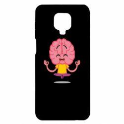 Чехол для Xiaomi Redmi Note 9S/9Pro/9Pro Max The brain meditates