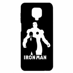 Чехол для Xiaomi Redmi Note 9S/9Pro/9Pro Max Tony iron man