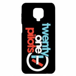 Чехол для Xiaomi Redmi Note 9S/9Pro/9Pro Max Twenty One Pilots Logo