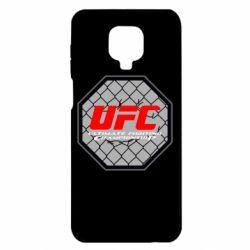 Чехол для Xiaomi Redmi Note 9S/9Pro/9Pro Max UFC Cage