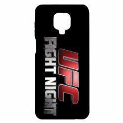 Чохол для Xiaomi Redmi Note 9S/9Pro/9Pro Max UFC Fight Night