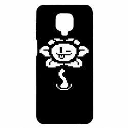 Чехол для Xiaomi Redmi Note 9S/9Pro/9Pro Max Undertale Flowey