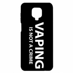 Чехол для Xiaomi Redmi Note 9S/9Pro/9Pro Max Vaping is not a crime