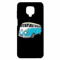 Чехол для Xiaomi Redmi Note 9S/9Pro/9Pro Max Vector Volkswagen Bus