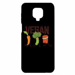 Чохол для Xiaomi Redmi Note 9S/9Pro/9Pro Max Веган овочі