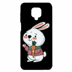 Чехол для Xiaomi Redmi Note 9S/9Pro/9Pro Max Winter bunny