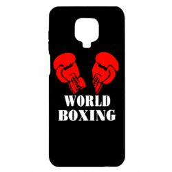 Чохол для Xiaomi Redmi Note 9S/9Pro/9Pro Max World Boxing