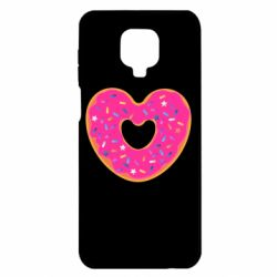 Чехол для Xiaomi Redmi Note 9S/9Pro/9Pro Max Я люблю пончик