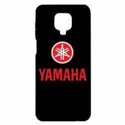 Чохол для Xiaomi Redmi Note 9S/9Pro/9Pro Max Yamaha Logo(R+W)