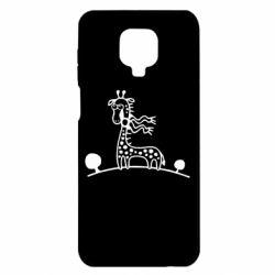 Чехол для Xiaomi Redmi Note 9S/9Pro/9Pro Max жираф