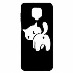 Чохол для Xiaomi Redmi Note 9S/9Pro/9Pro Max злий коте