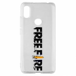 Чехол для Xiaomi Redmi S2 Free Fire spray