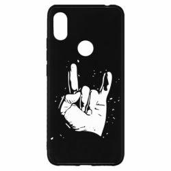 Чехол для Xiaomi Redmi S2 HEAVY METAL ROCK