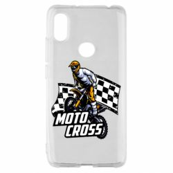 Чехол для Xiaomi Redmi S2 Motocross