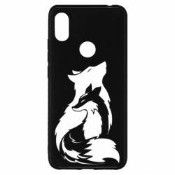 Чехол для Xiaomi Redmi S2 Wolf And Fox