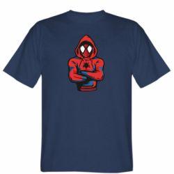 Чоловіча футболка Людина павук в толстовці