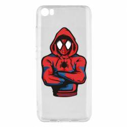 Чехол для Xiaomi Mi5/Mi5 Pro Человек паук в толстовке