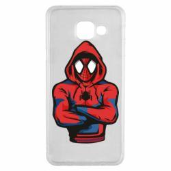 Чохол для Samsung A3 2016 Людина павук в толстовці