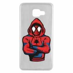 Чохол для Samsung A7 2016 Людина павук в толстовці