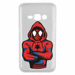 Чохол для Samsung J1 2016 Людина павук в толстовці