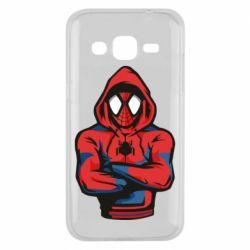 Чохол для Samsung J2 2015 Людина павук в толстовці