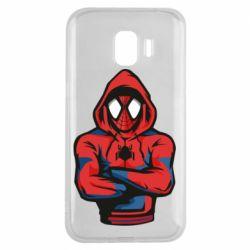 Чохол для Samsung J2 2018 Людина павук в толстовці
