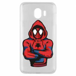 Чохол для Samsung J4 Людина павук в толстовці