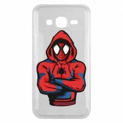 Чохол для Samsung J5 2015 Людина павук в толстовці