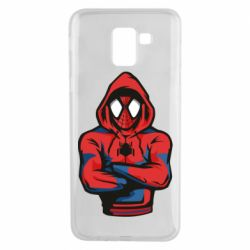Чохол для Samsung J6 Людина павук в толстовці
