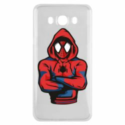 Чохол для Samsung J7 2016 Людина павук в толстовці