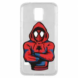 Чохол для Samsung S5 Людина павук в толстовці
