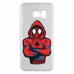Чохол для Samsung S6 EDGE Людина павук в толстовці