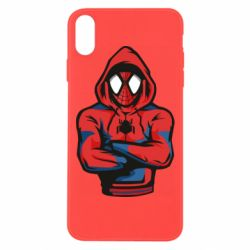 Чохол для iPhone Xs Max Людина павук в толстовці