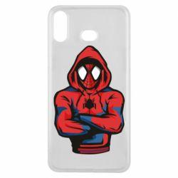 Чохол для Samsung A6s Людина павук в толстовці