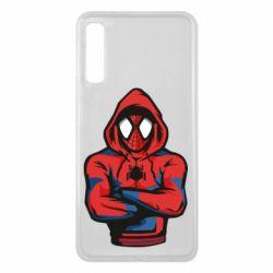 Чохол для Samsung A7 2018 Людина павук в толстовці