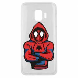 Чохол для Samsung J2 Core Людина павук в толстовці