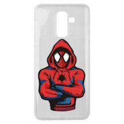 Чохол для Samsung J8 2018 Людина павук в толстовці