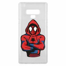 Чохол для Samsung Note 9 Людина павук в толстовці