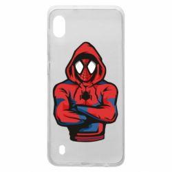 Чохол для Samsung A10 Людина павук в толстовці