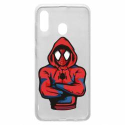 Чохол для Samsung A30 Людина павук в толстовці