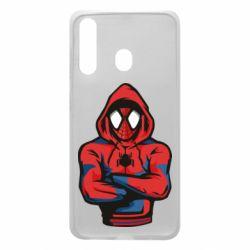 Чохол для Samsung A60 Людина павук в толстовці
